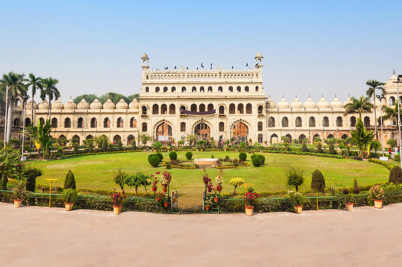 Bara Imambara, Lucknow. Bara Imambara is an imambara complex in Lucknow, India. Built by Asaf-ud-Daula, Nawab of Awadh, in 1784 royalty free stock image