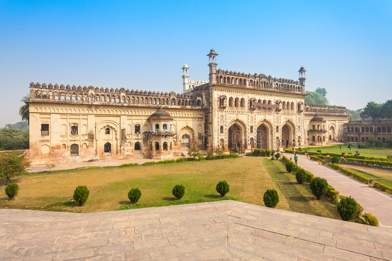 Bara Imambara, Lucknow. Bara Imambara is an imambara complex in Lucknow, Uttar Pradesh in India stock photo