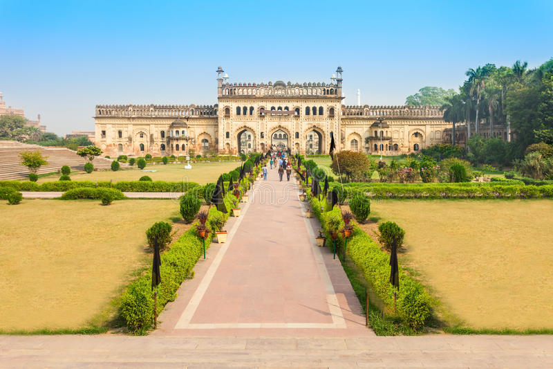 Bara Imambara, Lucknow. Bara Imambara is an imambara complex in Lucknow, Uttar Pradesh in India royalty free stock image