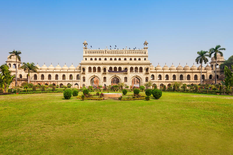 Bara Imambara, Lucknow. Bara Imambara is a complex in Lucknow, Uttar Pradesh in India. It is also called the Asafi Imambara royalty free stock photos