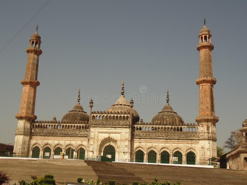 BARA IMAMBARA LUCKNOW UP NAWABO KA SAHAR stock photo
