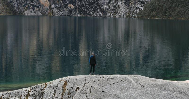 Bara på sjön arkivbilder