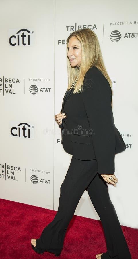 Barabra Streisand på den Tribeca filmfestivalen 2017 arkivbilder