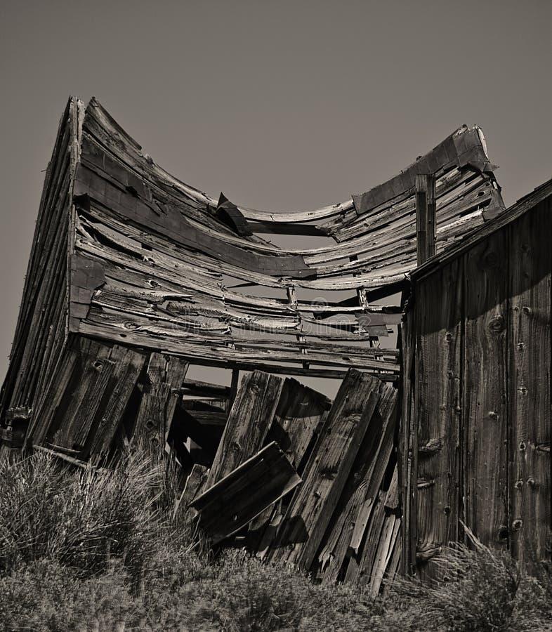 Baracca Swayback fotografia stock libera da diritti