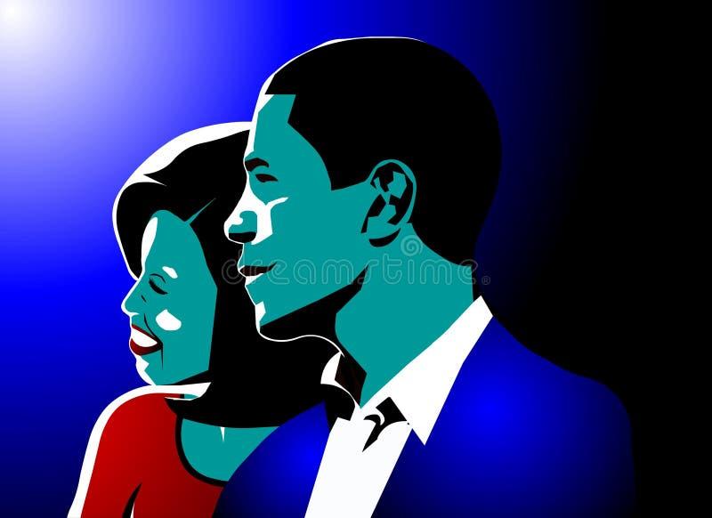 Barack & obama van Michelle