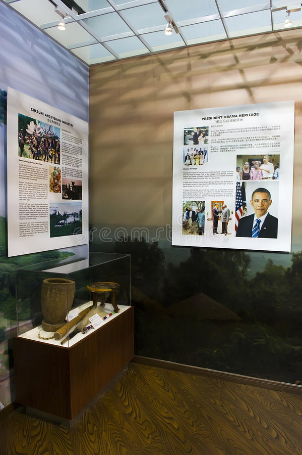 Barack Hussein Obama o 44th presidente fotografia de stock