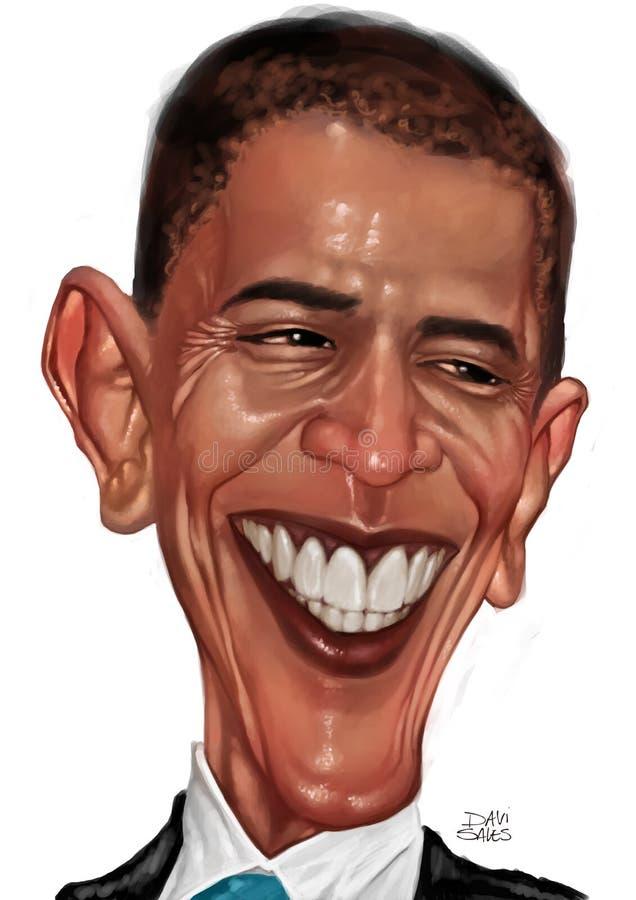 barack karykatury obama ilustracji