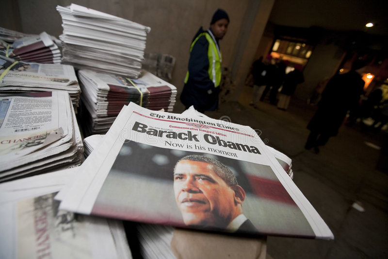 barack obama εγκαινίασης προεδρικό στοκ εικόνες
