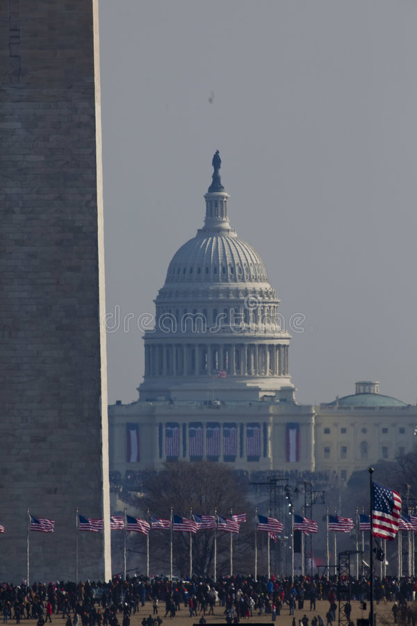 barack obama εγκαινίασης προεδρι&ka στοκ φωτογραφίες