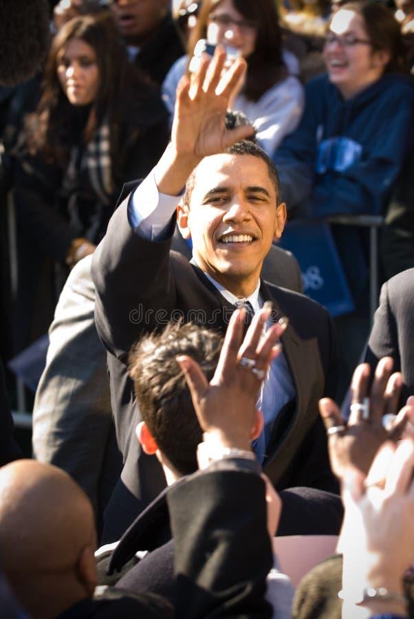 Barack Obama 15 image libre de droits