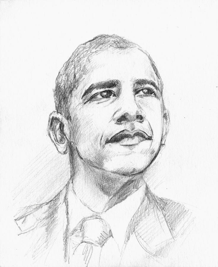 Barack Obama illustration de vecteur