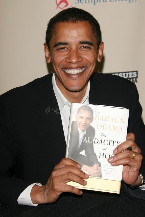 Barack Obama imagem de stock