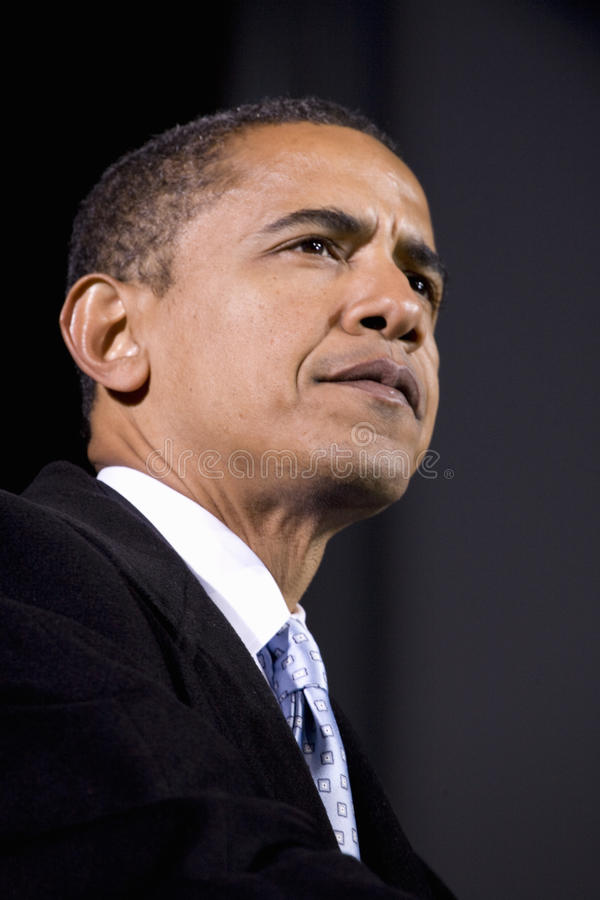 Download Barack Obama editorial stock image. Image of american - 22932644