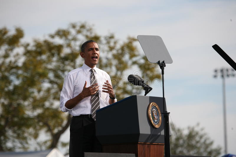 Download Barack Obama editorial stock photo. Image of voters, republic - 27493828