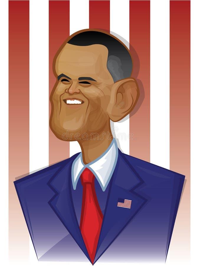 Barack Obama libre illustration