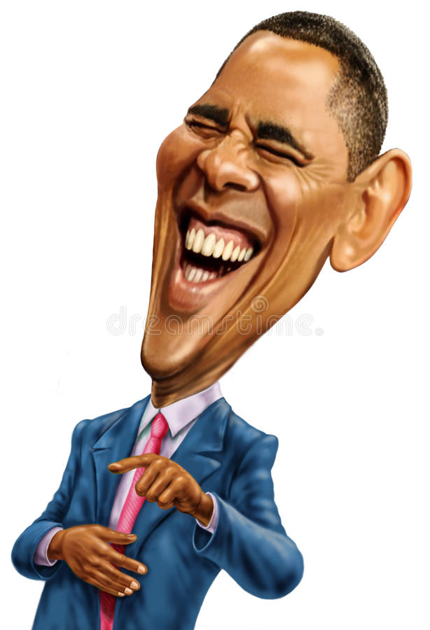 Barack Obama stock afbeeldingen
