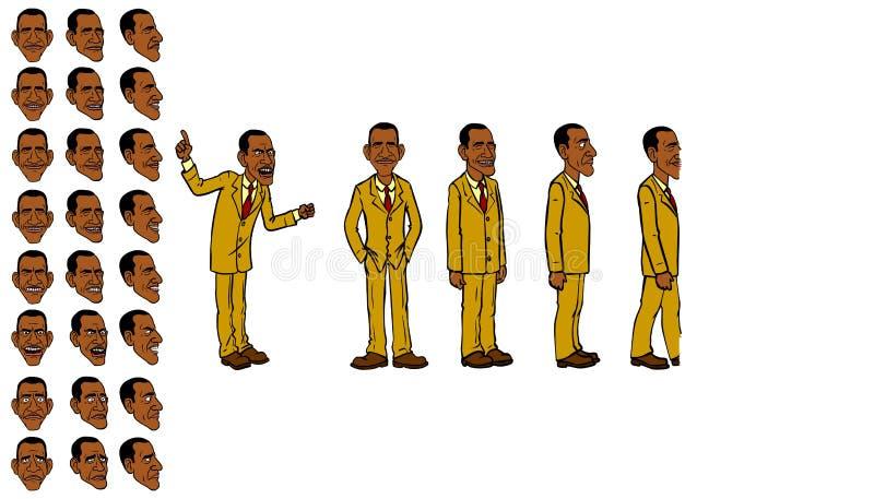 Barack Obama photo stock