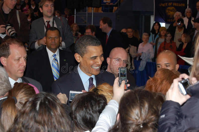 Barack Obama imagenes de archivo
