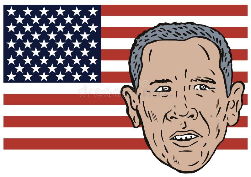 Barack Obama illustrazione di stock