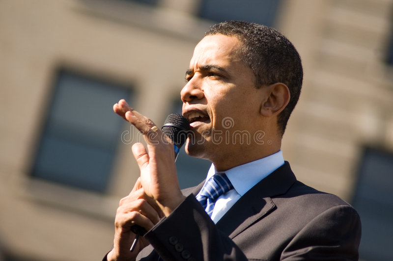 Barack Obama 7 lizenzfreie stockfotos