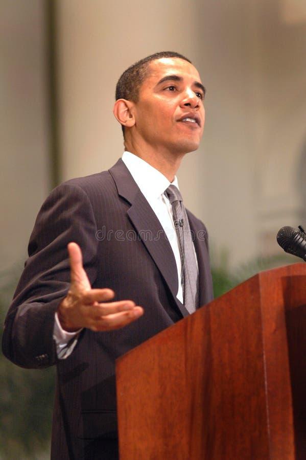 Barack Obama fotografia de stock