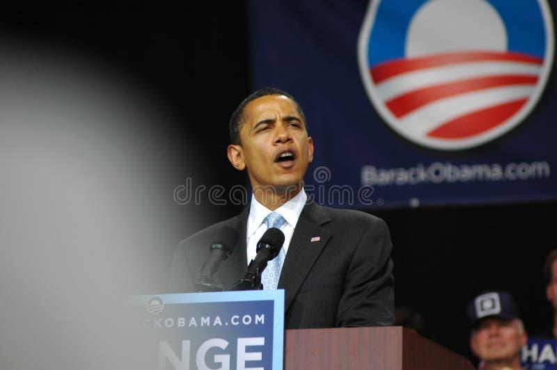 Barack Obama imagens de stock