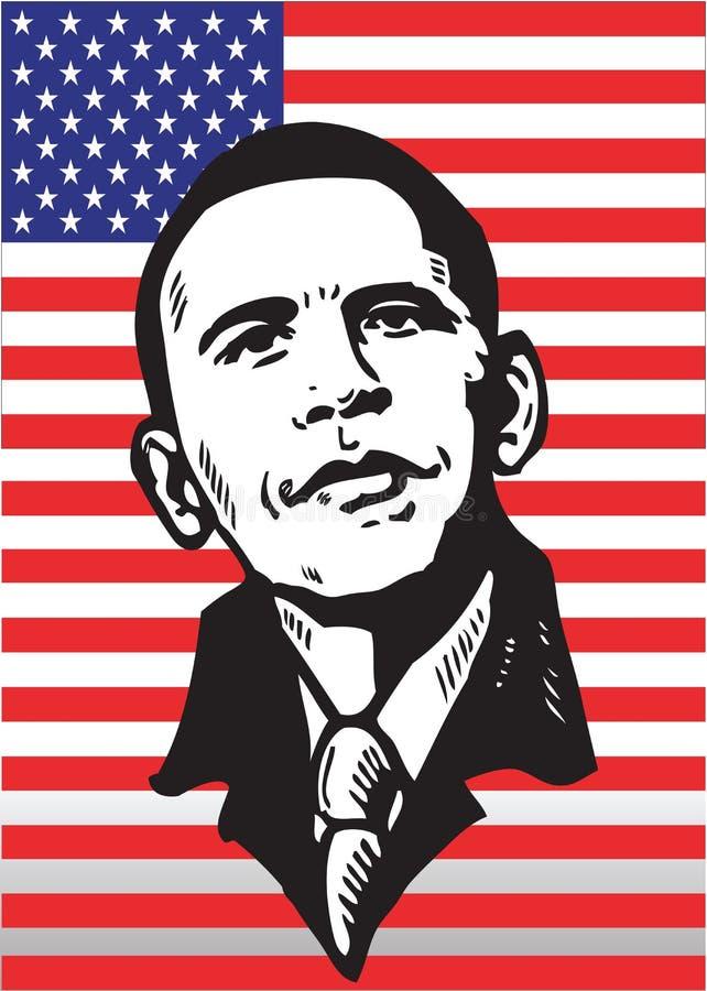 Barack Obama stock abbildung