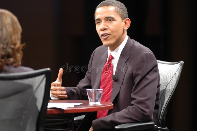 Barack Obama immagini stock