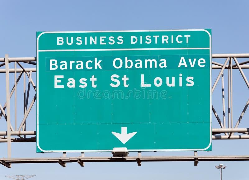 Download Barack Obama Avenue stock photo. Image of street, president - 27336526
