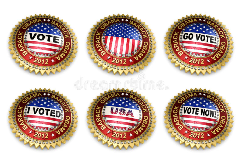 Download Barack Obama Presidential Election 2012 Buttons Editorial Photography - Illustration of clipping, barack: 24283542