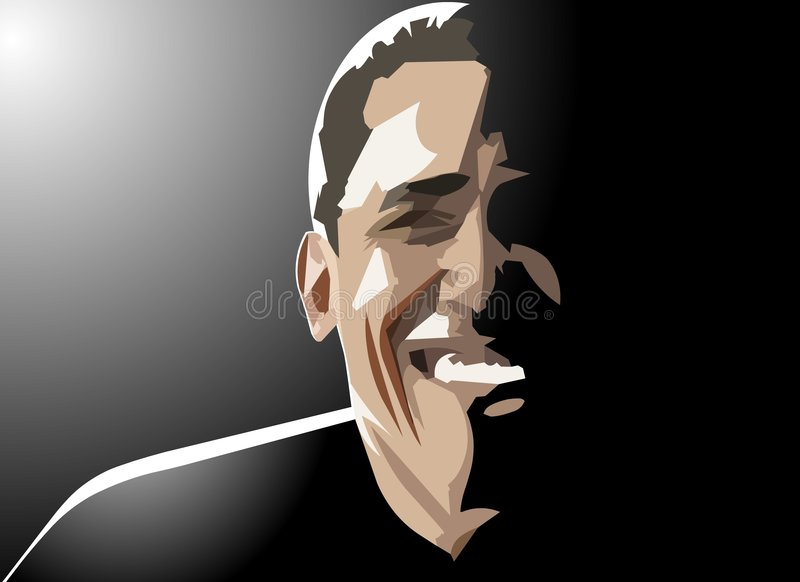 Download Barack obama smiles editorial photo. Image of democrats - 9242451