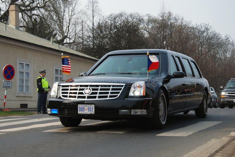 barack samochodu obama obrazy royalty free