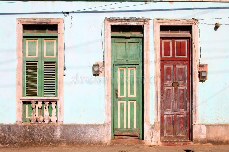 baracoa古巴 免版税库存图片