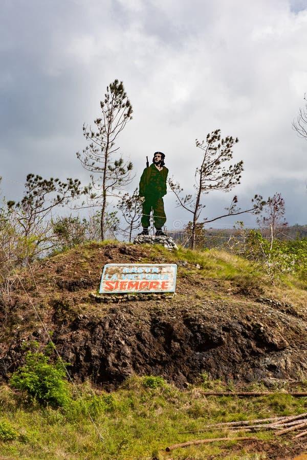 Baracoa, Cuba: natural landscape stock image
