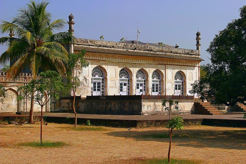Baradari, bibi-Ka-Maqbara, Aurangabad, India stock afbeelding