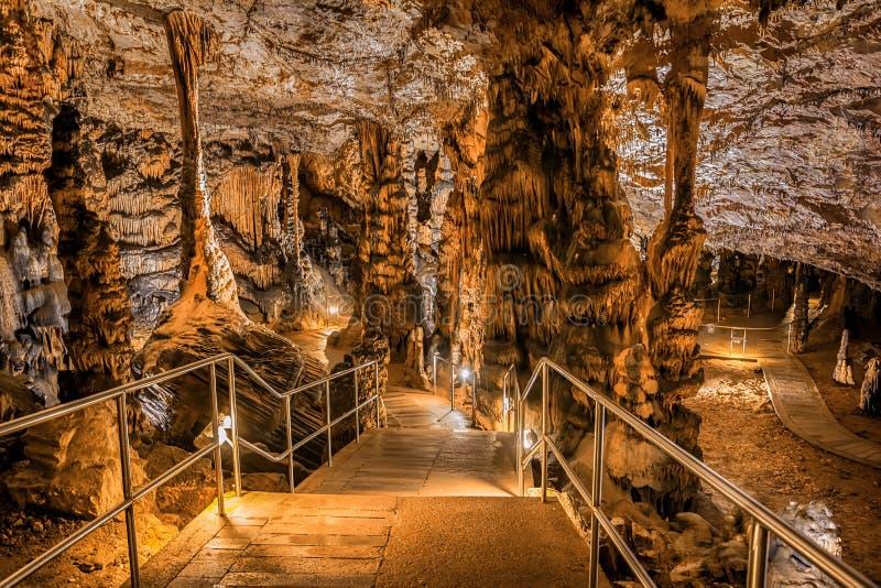 Baradle-Höhle in Nationalpark Aggtelek in Hungury lizenzfreies stockbild