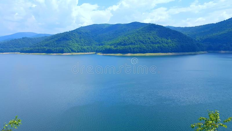 Barajul Vidaru lizenzfreies stockbild