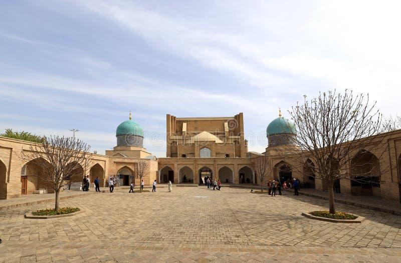 Barak-Khan Madrasah - Τασκένδη - Ουζμπεκιστάν στοκ εικόνα
