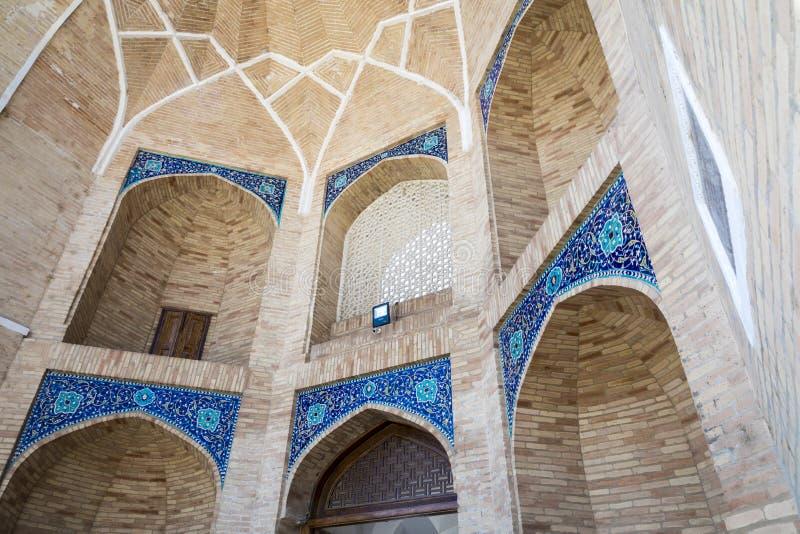 Barak Khan madrasah Den Hast imamen Square Hazrati Imam är en religi royaltyfri bild