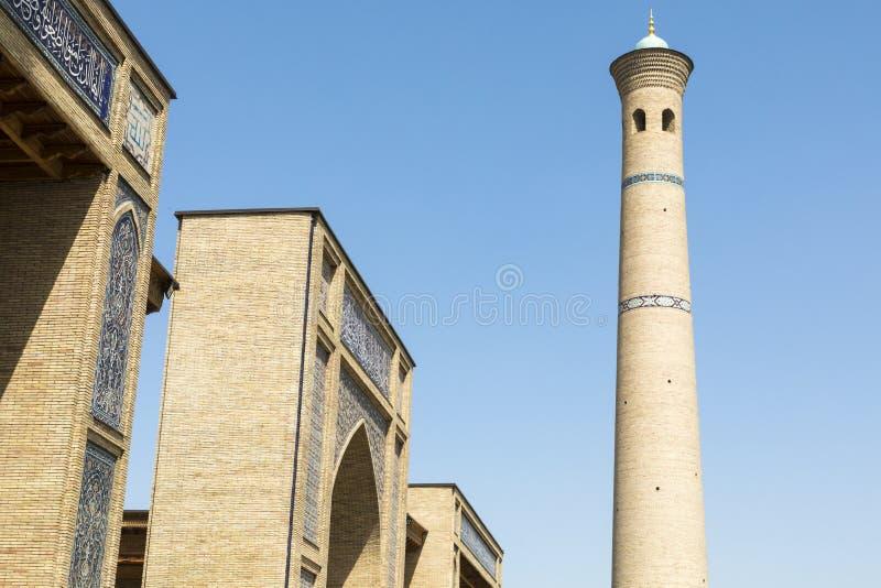 Barak Khan madrasah Den Hast imamen Square Hazrati Imam är en religi arkivbild