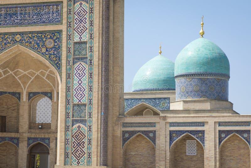 Barak Khan madrasah Den Hast imamen Square Hazrati Imam är en religi fotografering för bildbyråer
