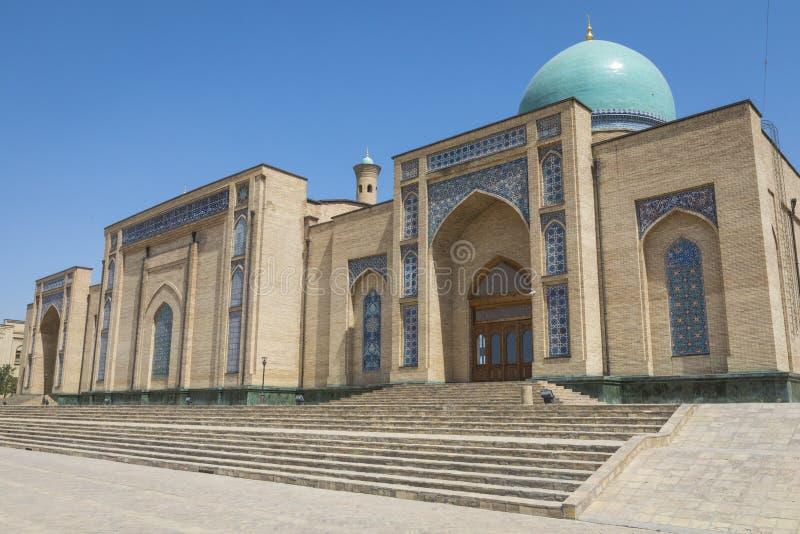 Barak Khan madrasah Den Hast imamen Square Hazrati Imam är en religi royaltyfria foton