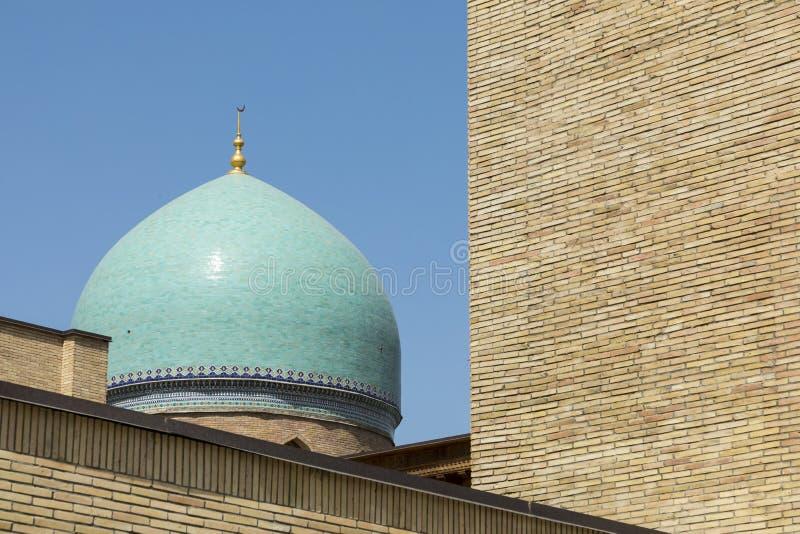 Barak Khan madrasah. Hast Imam Square Hazrati Imam is a religi royalty free stock photography