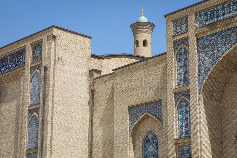 Barak Khan madrasah Hast imama kwadrata Hazrati imam jest religi zdjęcia royalty free