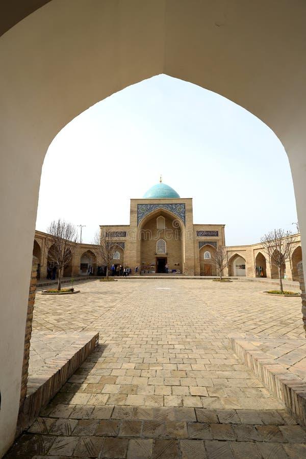 Barak-Khan Madrasah - Tashkent - Uzbekistan. royalty free stock photo