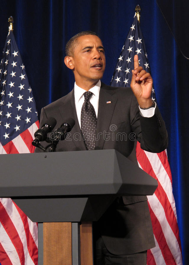 Barak Obama6 royalty free stock photos