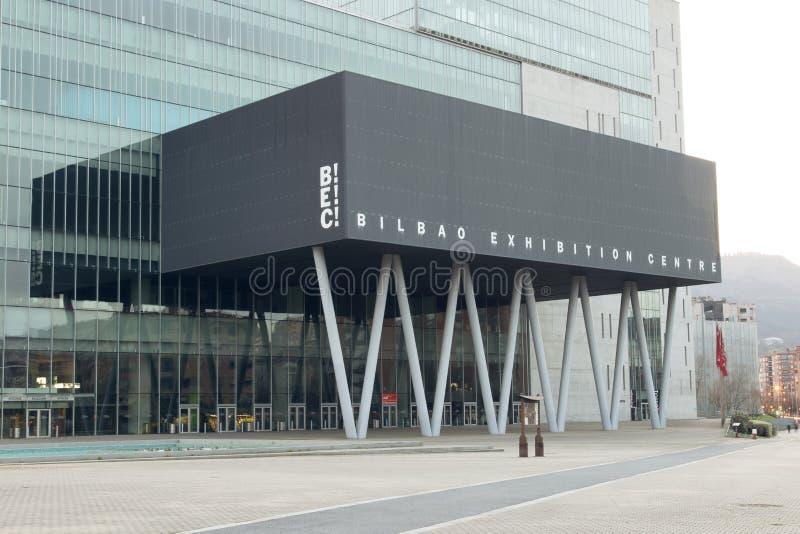 BARAKALDO, BASKIJSKI kraj, HISZPANIA, MARZEC 01, 2016: Bilbao wystawa obraz stock