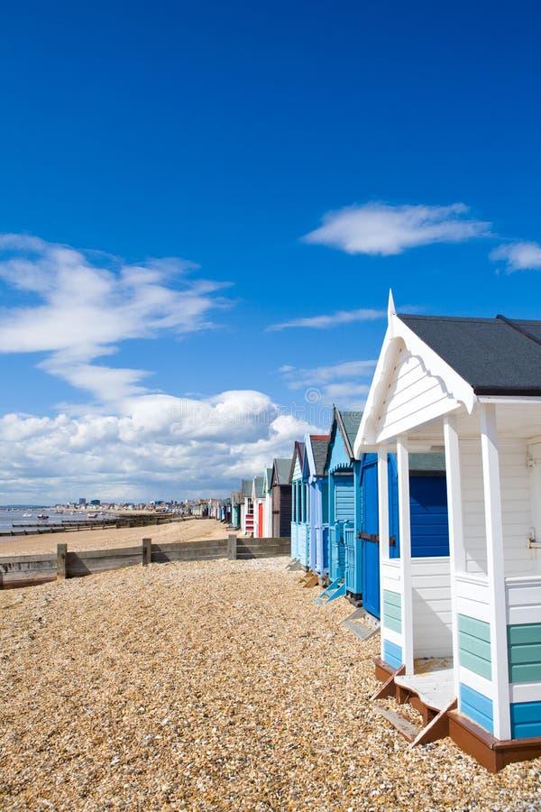 baraki plażowych obrazy stock