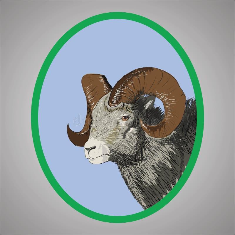 Download Baran ilustracja wektor. Ilustracja złożonej z symbol - 28961691