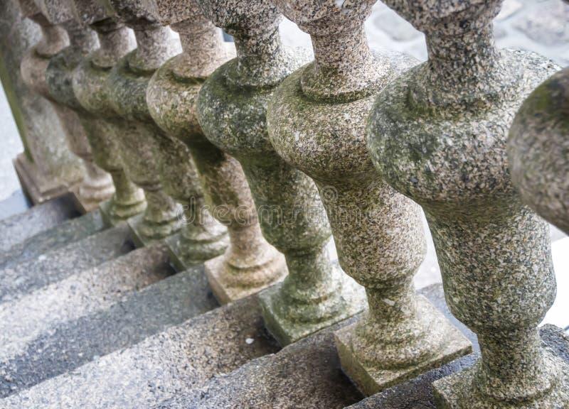 Barandilla semicircular del balcón foto de archivo libre de regalías